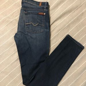 7 for all mankind Roxanne jeans size 29